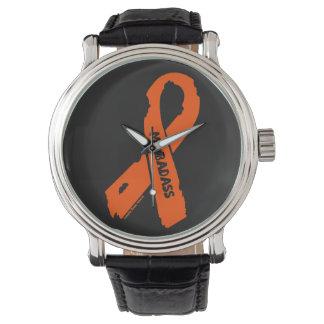 Reloj De Pulsera Cinta rasgada BADASS/del ms