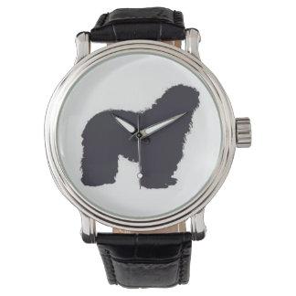 Reloj De Pulsera color del bergamasco_silhouette