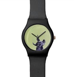 Reloj De Pulsera Coloree el efecto, fotografía simple filtrada,