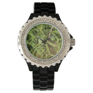Reloj De Pulsera Cono de la semilla de Cypress calvo