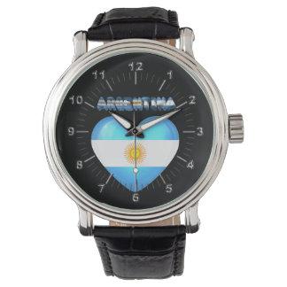 Reloj De Pulsera Corazón argentino