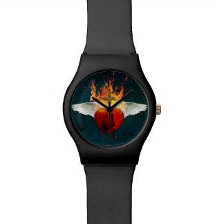 Reloj De Pulsera Corazón sagrado