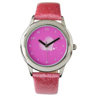 Reloj De Pulsera Corazones
