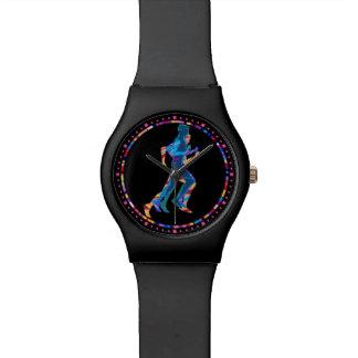 Reloj De Pulsera Corredor en el movimiento