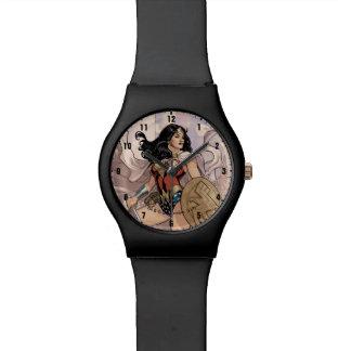 Reloj De Pulsera Cubierta cómica #13 de la Mujer Maravilla