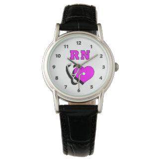 Reloj De Pulsera Cuidado del RN de la enfermera