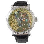 Reloj De Pulsera Cumplimiento aka el abrazo de Gustavo Klimt