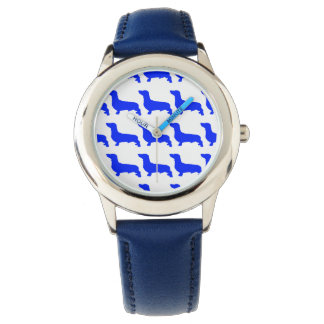Reloj De Pulsera Custom Acero inoxidable azul