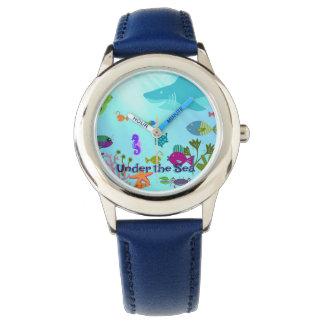 Reloj De Pulsera Debajo del mar