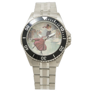 Reloj De Pulsera Del TOP patín de moda
