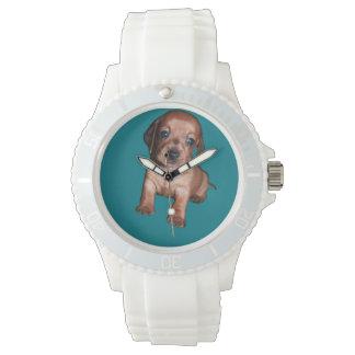 Reloj de pulsera deportivo de silicona mujer