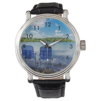 Reloj De Pulsera Día perfecto en el lago