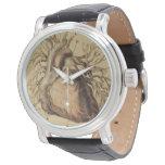 Reloj De Pulsera Dibujo anatómico del ilustracion del corazón del