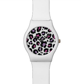 Reloj De Pulsera Diseño colorido del modelo del estampado de