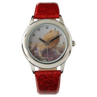 Reloj De Pulsera Diseño lindo de la foto de Beardie