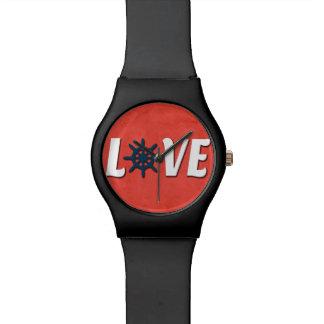 Reloj De Pulsera Diseño náutico del amor