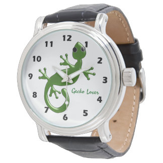 Reloj De Pulsera Diseño personalizado del Gecko