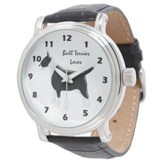 Reloj De Pulsera Diseño personalizado del perro de bull terrier