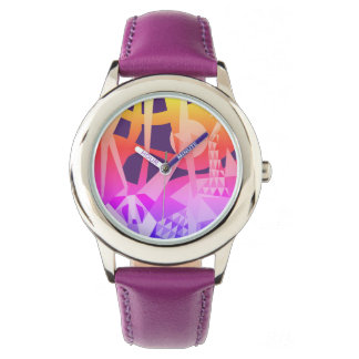 Reloj De Pulsera Diseño popular de la NUEVA alegría de la selva de