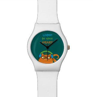 Reloj De Pulsera Divertidos modernos brillantes de los vidrios de