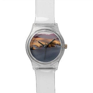 Reloj De Pulsera Dunas de arena planas del Mesquite Death Valley