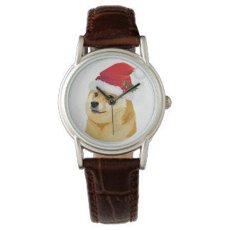 Reloj De Pulsera Dux del navidad - dux de santa - perro del navidad