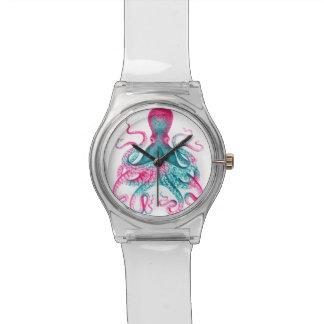 Reloj De Pulsera Ejemplo del pulpo - vintage - kraken
