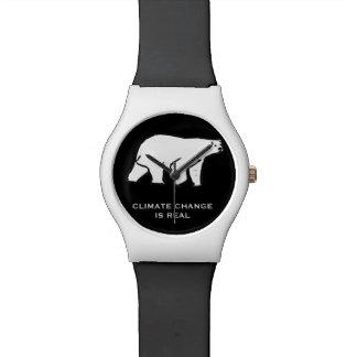 Reloj De Pulsera El cambio de clima es real