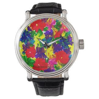Reloj De Pulsera El caramelo riega al artista del autismo