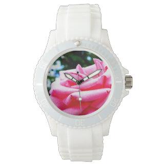Reloj De Pulsera El color de rosa rosado de Mabel