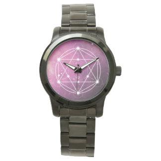 Reloj De Pulsera El cubo del | de los metatron SAGRADOS de la