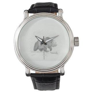 Reloj De Pulsera El grisáceo