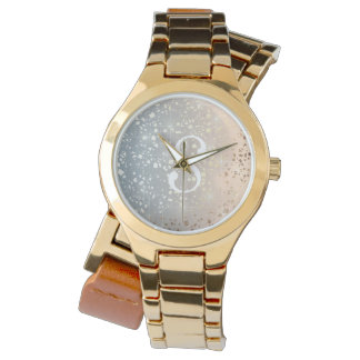 Reloj De Pulsera El vintage acalló la chispa de la hoja de la