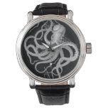 Reloj De Pulsera El vintage náutico del pulpo del steampunk kraken