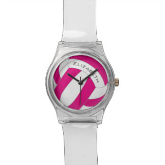 Reloj De Pulsera el voleibol de las mujeres cualquier color
