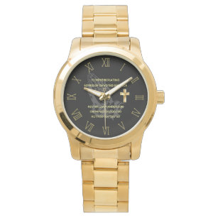Reloj De Pulsera Elegante conmemorativo de PRIEST Retirement Watch