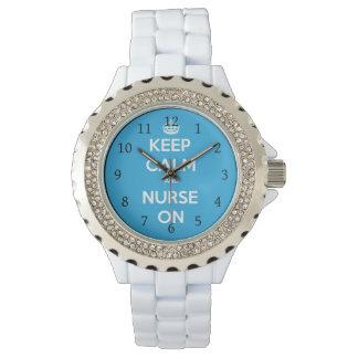Reloj De Pulsera Enfermera en el reloj, regalo para la enfermera