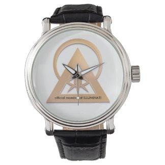 Reloj De Pulsera engranaje oficial del illuminati