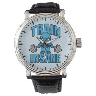 Reloj De Pulsera Entrenamiento INSANO de Deadlift del Weightlifter