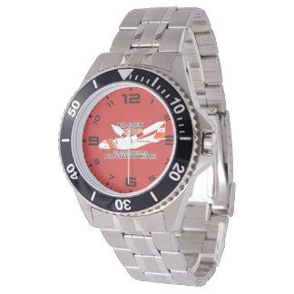 Reloj De Pulsera Equipo del aire de Miami de la estación aérea de