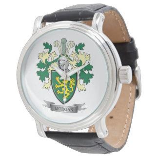 Reloj De Pulsera Escudo de armas del escudo de la familia de Morgan