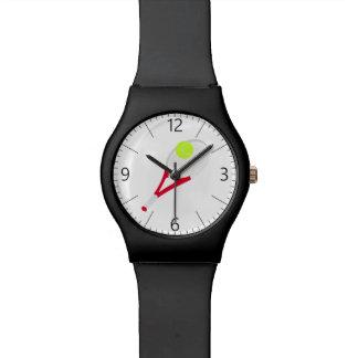 Reloj De Pulsera Estafa de tenis y pelota de tenis