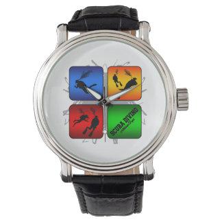 Reloj De Pulsera Estilo urbano del buceo con escafandra asombroso