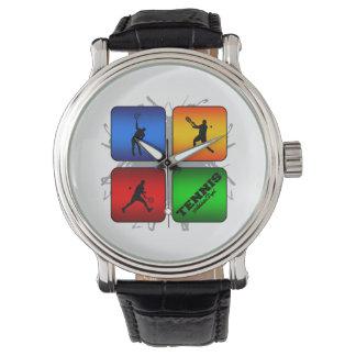 Reloj De Pulsera Estilo urbano del tenis asombroso (varón)