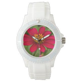 Reloj De Pulsera Flor de Borgoña