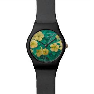 Reloj De Pulsera Flores amarillas en la naturaleza
