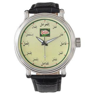 Reloj De Pulsera Formas árabes del verbo