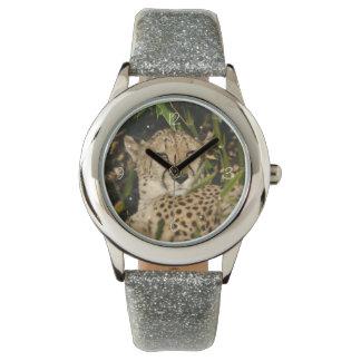 Reloj De Pulsera Fotografía del guepardo