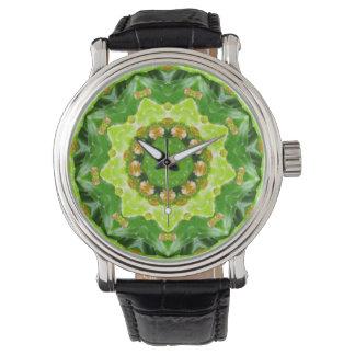 Reloj De Pulsera Fractal de los brotes de flor del cactus