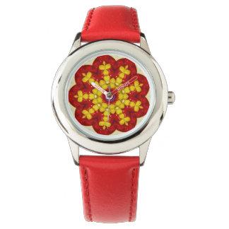 Reloj De Pulsera Fractal dulce de los diamantes
